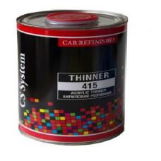 CS System - Розчинник акриловий повільний Thinner 415 0.5л