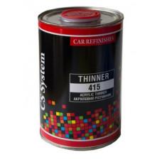 CS System - Розчинник акриловий повільний Thinner 415 1л