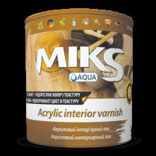 MIKS Лак інтер`єрний акриловий глянецвий 0,75л