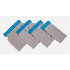 NCPro - Набір шпателів з нержавіючої сталі (4 шт)