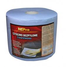 NCPro - Рушник технічний паперовий, 3-х шаровий синій 190 м/п