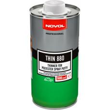 NOVOL - THIN 880 Розчинник для рідкої шпаклівки 0,5л