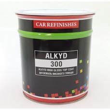 Автоемаль CS System Alkyd 300 Сніжно біла 202 0,8л