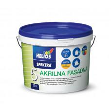 SPEKTRA Акрилова фасадна фарба біла В1 NEW 10л