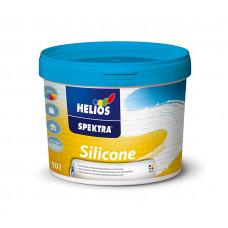 SPEKTRA Silicone фасадна фарба біла база В1 силіконова 2л