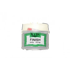 KDS - Фінішна шпаклівка біла FINISH 0,2кг