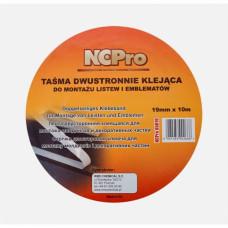 NCPro - Стрічка двостороння склеювальна 6мм х 10м
