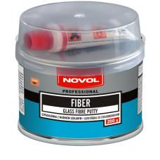 """NOVOL - Шпаклівка з волокном скляним """" FIBER""""  0,2кг"""