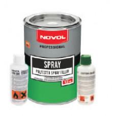 NOVOL - Шпаклівка рідка SPRAY 1,2кг
