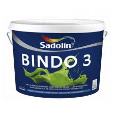 Фарба для стін і стелі BINDO 3 ВW біла 1л