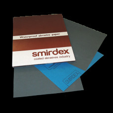 SMIRDEX - Папір абразивний водостійкий Лист 230х280мм Зерно 60